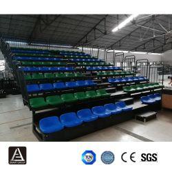 China-Fabrik-Zubehör-Gymnastik-Stadion bewegliche Telescipic Haupttribüne-einziehbarer Zuschauertribüne-Sitz
