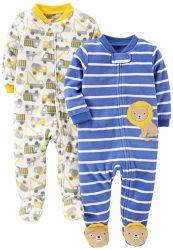 Les garçons de l'hiver polaire chaud Footed costume du sommeil et de jouer les bambins de vêtements pour bébé de l'usure
