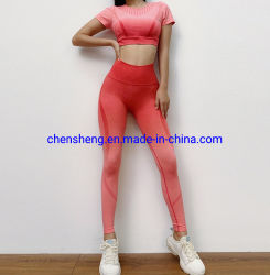 نمو بالجملة سيّدة [وومن] [يوغ] [سبورت] [رونّينغ] لياقة صديرية [لغّينغ] دعوى لباس [موق] منخفضة