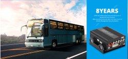 magnetoscopio mobile del sistema 720p della macchina fotografica dell'automobile della scheda DVR di deviazione standard di 4CH Mdvr con il periferico per obbligazione della scatola nera dell'automobile