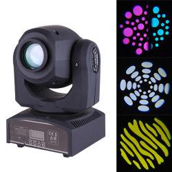 illuminazione mobile del randello delle teste dei Gobos di 60W LED del punto fascio multiplo dell'indicatore luminoso del mini PRO