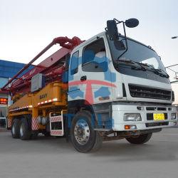 Pompa per calcestruzzo montata camion utilizzata Remanufactured 2007 di Sany 37m