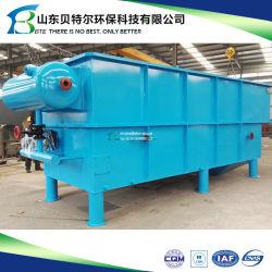 Extracteur de TSS et d'huile d'élimination des déchets huileux de l'eau du séparateur d'huile du système de traitement des eaux usées de l'unité de flottation à air dissous DAF