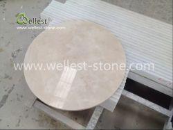 Table en marbre beige, Table Basse, Table, table à manger