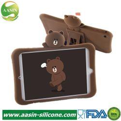 Kickstand Anti-Shock la funda de silicona cubierta de la caja de Tablet para iPad