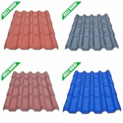 Free Samples Easy Install PVC Light Weight Roof Tile
