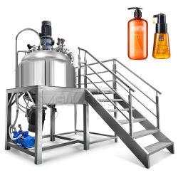 Miscelatore emulsionante a gel a ultrasuoni a vuoto fisso serbatoio di miscelazione omogeneizzatore cosmetico