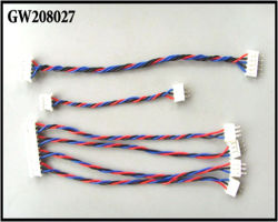 pH Male aan Female met Lead Twist Wire 6 Inch