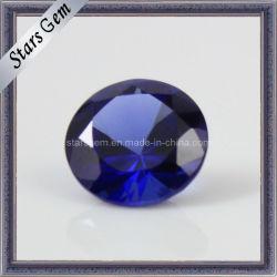 Loser blauer Saphir-Edelstein des leuchtenden Schnitt-34#