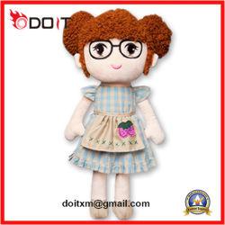 Bambola della peluche della bambola della peluche farcita bambola su ordine di 3 colori