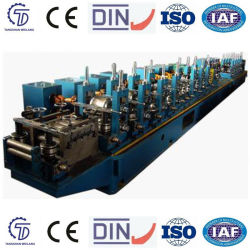 Soldadura automática máquina de fabricación del tubo de acero, tubo galvanizado Roller