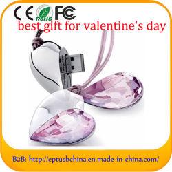 Het populaire Hart van de Aandrijving van de Flits USB voor de Dag van de Valentijnskaart (ES1314)