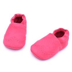 Детский обувь мягкая единственной кожаные мокасины краулеров детская обувь детская кроватка малышей повседневный пробуксовки колес на основе обувь Esg13791