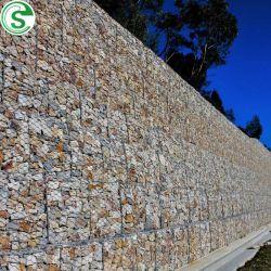 Clôtures de pierre galvanisé à chaud haute résistance pour la clôture de la rivière de gabions
