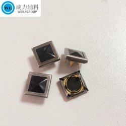 비드 표면 금속 공형 링 스냅 버튼, 옷감을 위한 금속 트림