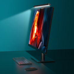 LED de Usams Portátil colgando de la barra de la pantalla de lámpara de mesa de luz de lectura de estudio de la oficina ordenador mesa de Luz Lámpara de mesa para Monitor LCD