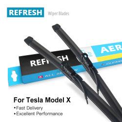 С системой отопления и Spray стеклоомыватели OE точное соответствие Плоские щетки для Tesla Model X