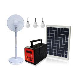 نظام المولدات الشمسية الجديد تلفزيون مزود بدعم البطارية ومراوح 13 أمبير