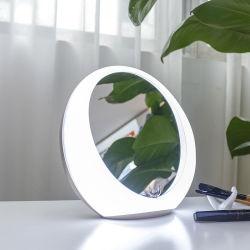 Design especial agregado LED recarregável USB Produto espelho do Interruptor do Sensor de toque do alto-falante Bluetooth