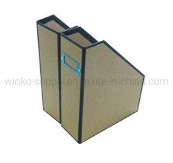 Dispositivo di piegatura dell'archivio cartaceo del Kraft per il contenitore da tavolino di scomparto degli articoli per ufficio