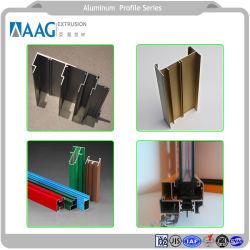 O material de liga de alumínio e perfil de alumínio para a janela e a estrutura da porta e do sistema de Cortina incluindo tubo de alumínio
