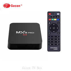 "Mxq PRO RK3229 телевизор ""Android 7.1 4K 1/2 ГБ 8/16Gb 2,4 WiFi Google Play Netflix Youtube Media Player телеприставкой"