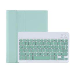 Foglio astuto della tastiera per iPad 9.7 2018/10.2/10.5/Air 3 colore della caramella da 10.5 pollici con la cassa di cuoio senza fili della scanalatura della penna