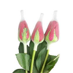 Espuma de plástico de protección de la fruta un capullo de rosa Net