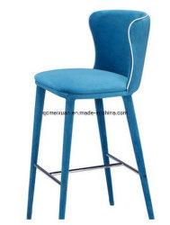 ヨーロッパのミルクの茶店、錬鉄木製棒椅子、棒椅子の喫茶店の余暇のカスタマイズされる高いフィートの椅子復元する古代方法(M-X3435)を