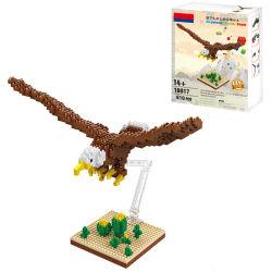 кирпичи игрушек орла 610PCS Nano установленные строительными блоками (10283720)