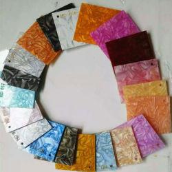 Scatola di presentazione di marmo variopinta competitiva della scheda di vetro acrilico di vendita 2mm