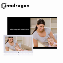 Moldura fotográfica digital de 10,1 polegadas Displayerinfrared Ad Ad Player Digital Signage LCD Fornecedor Playerled Ecrã de Publicidade de Mídia de Publicidade