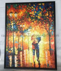 A arte de parede emoldurado pintura a óleo decoração do quarto estendeu a pintura de Arte de lona