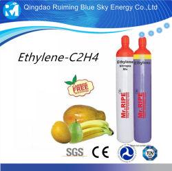 マレーシアシリンダーの工場製造業のエチレンのガスC2h4 99.95%
