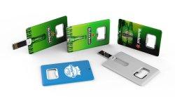 Usb-Flashstation Met Creditcardvorm En Flesopener En Groot Afdrukgebied Cc18