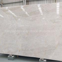 Lastra bianca brasiliana Polished della quarzite di Taj Mahal del granito per il progetto delle mattonelle di pavimentazione e del controsoffitto