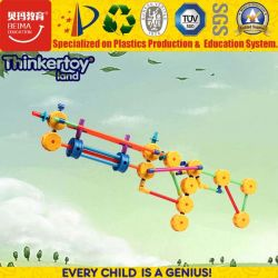 2016 Novo Design Fashion Kids Puzzle 3D brinquedos de plástico