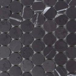 Buen precio Piedra Redonda de mármol gris Bulgaria mosaico Mosaico
