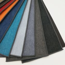 ポリエステル家具製造販売業の世帯の織物の椅子のソファーによって編まれる染められた明白なファブリック