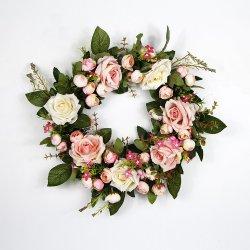 China-Großhandelsschönheits-BlumenvorbereitungenWreath für Hochzeits-Platz