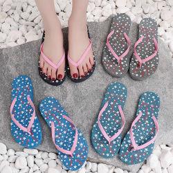 De in het groot Ploffen die van Filp van de Schoenen van de Vrouwen van de Manier Sweemming Sandals wassen Dame Beach Naked Footwear