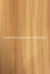 Melamin imprägniertes dekoratives hölzernes Korn-Papier für lamellierendes Furnierholz