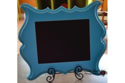 파란색 플라스틱 PVC 포토 프레임