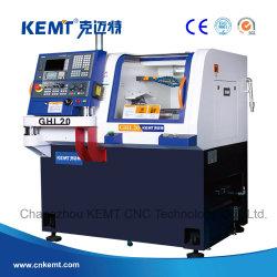 (GHL20-Siemens) Hoge precisie en kleine gang CNC Lathe machine voor Draaien van machineschijf en asonderdelen