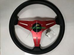 volantes de cuero del coche de la PU de 350m m con ABS y aluminio