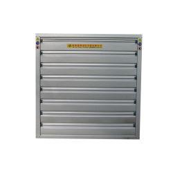 Granja avícola de montaje en pared Push-Pull Ss Obturador automático de la hoja del ventilador de escape