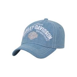 L'abitudine all'ingrosso ha candeggiato i berretti da baseball lavati pietra non strutturata normale dello spazio in bianco dei cappelli del papà