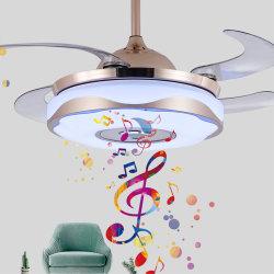 Plafondventilator Zonder bladen van de Muziek van Bluetooth de Decoratieve