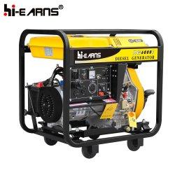 Dieselgenerator mit offenem Schweißrahmen (DG6000EW)