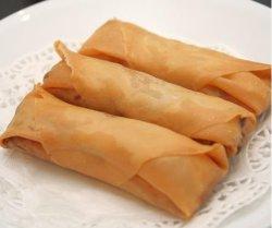 전통 중국 음식 스프링 롤